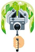 cámara 360 grados