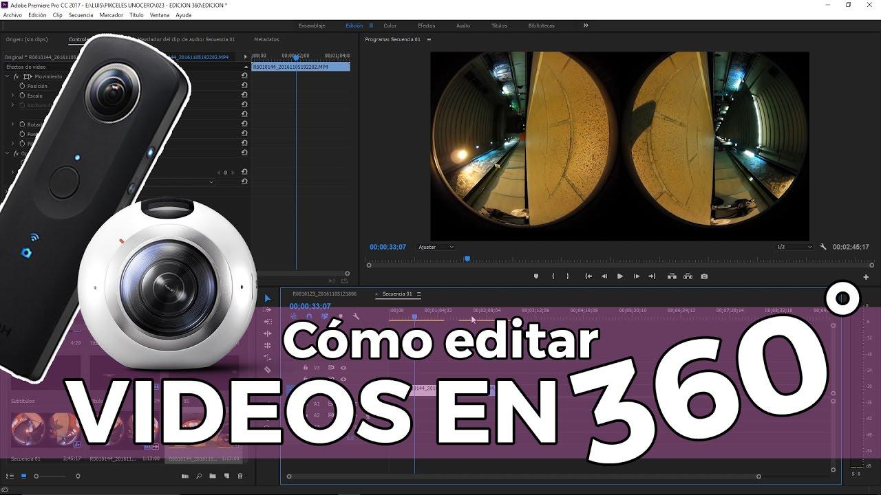 Cómo Editar Vídeos De 360 Grados Guía Completa
