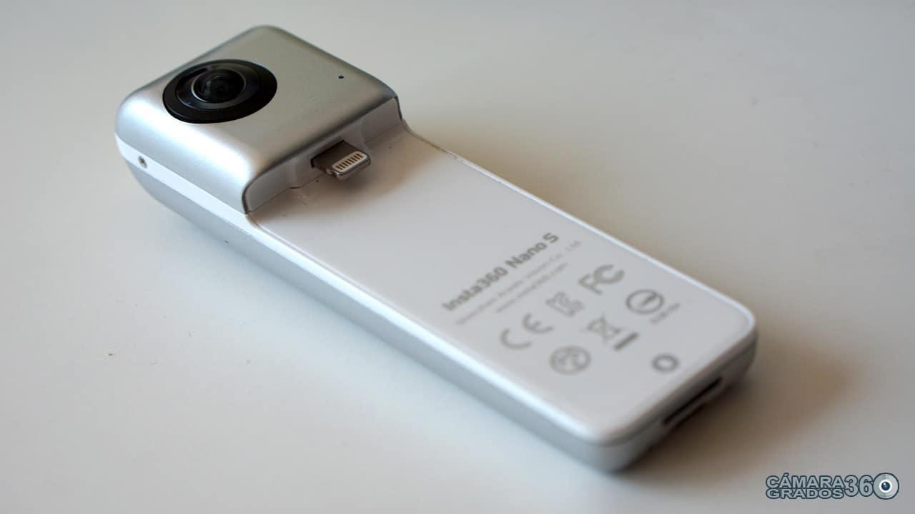 Conector Lightning de la Insta360 Nano S