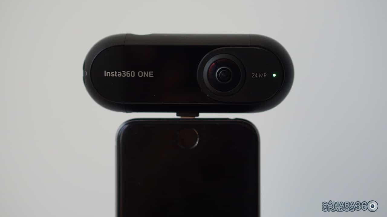 Insta360 ONE conectada a iPhone