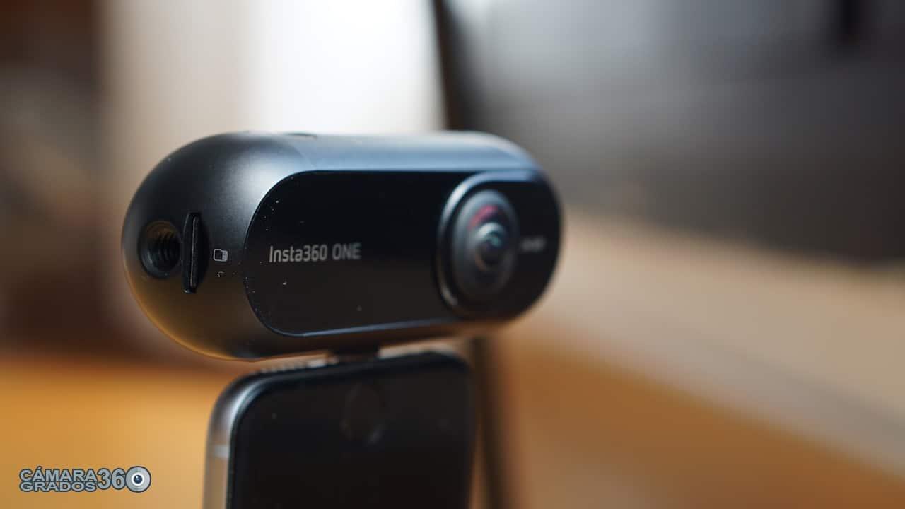 Ópticas de la cámara VR Insta360 ONE