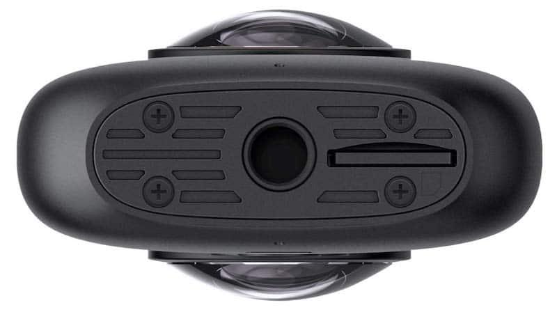 tarjeta sd de la cámara Insta360 One X